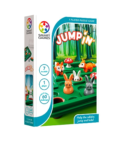 smart games, jump in, logic, all ages