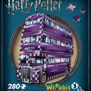 harry potter, knight bus, 3d puzzle, jigsaw,