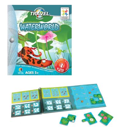 waterworld, smartgames, puzzles, logic, skipton, harrogate, presentplanners, gamescrusade, yorkshire