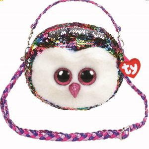 Harrogateharr Skipton, ,sparkly ,bag Flippable, ,Owl